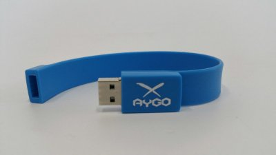 AYGO USB-STICK HELLBLAU