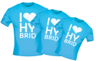 T-Shirt I-Love-Hybrid for Men